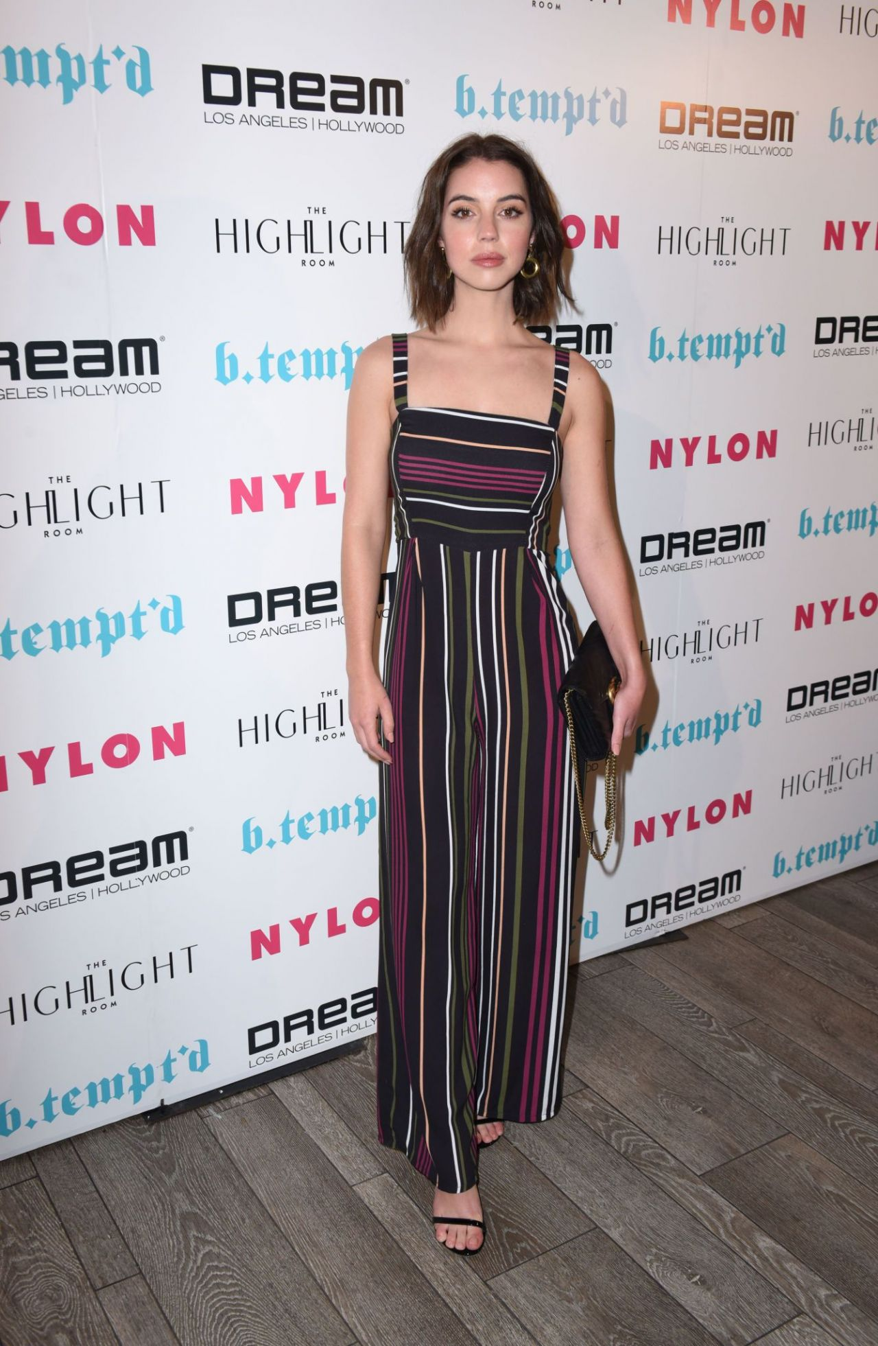 Adelaide Kane – NYLON's It Girl Party in Los Angeles 10/12/2017
