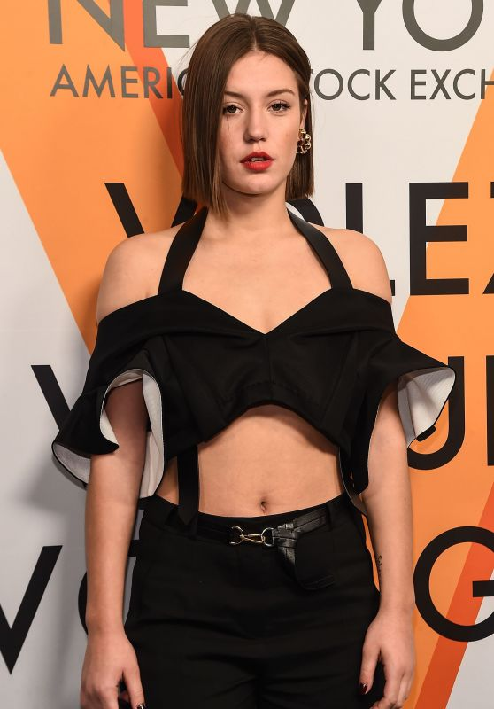 Adele Exarchopoulos – Volez, Voguez, Voyagez: Louis Vuitton Exhibition Opening in NYC