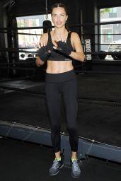 Adriana Lima - Training in DogPound, New York City 10/03/2017