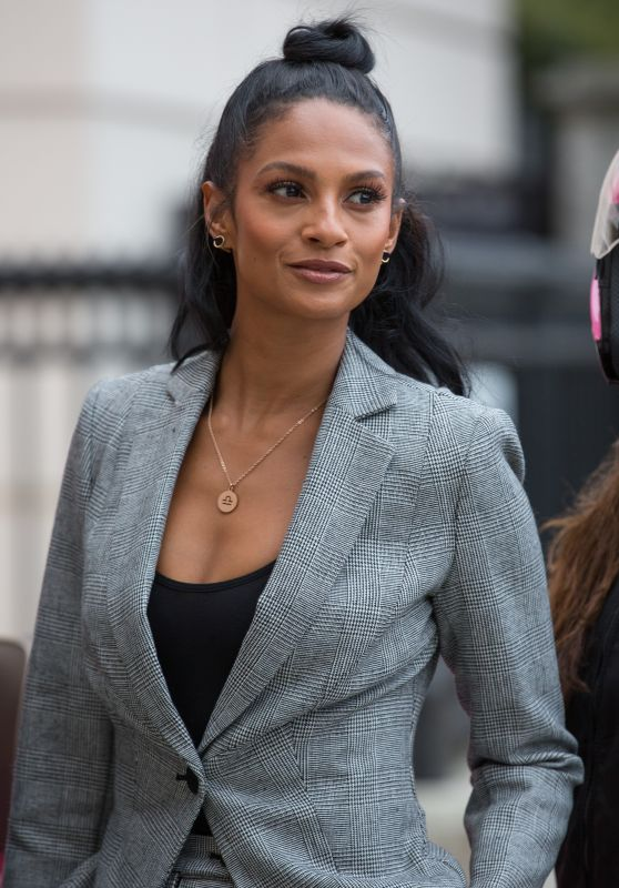 Alesha Dixon - Ambassador of the Newly Re-Launched Debenhams Beauty Club in London 10/24/2017