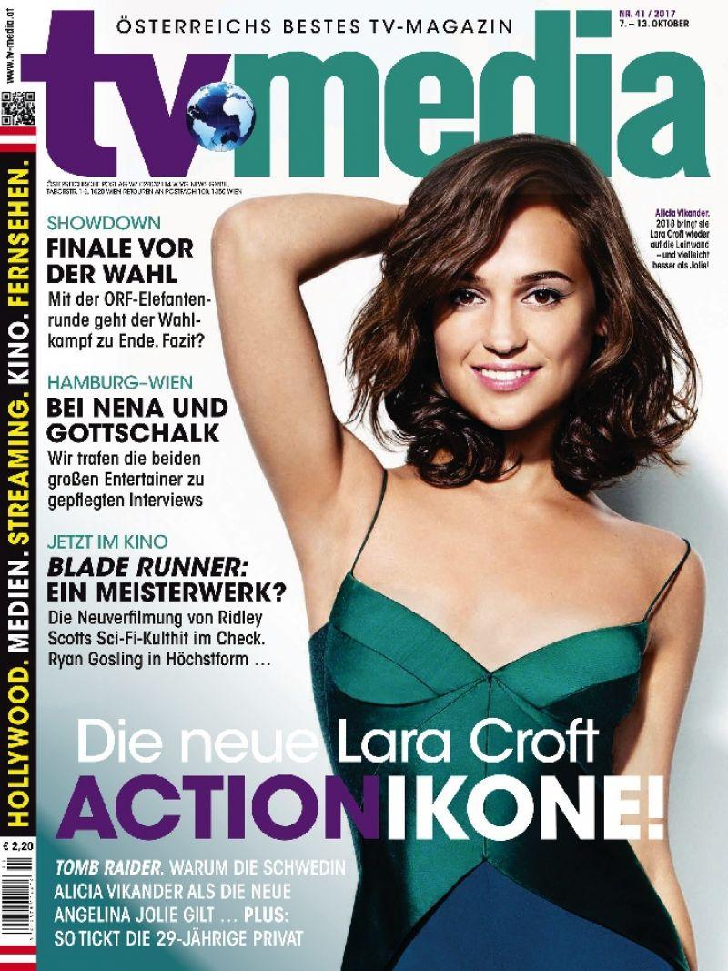 Alicia Vikander - TV Media Magazine October 2017