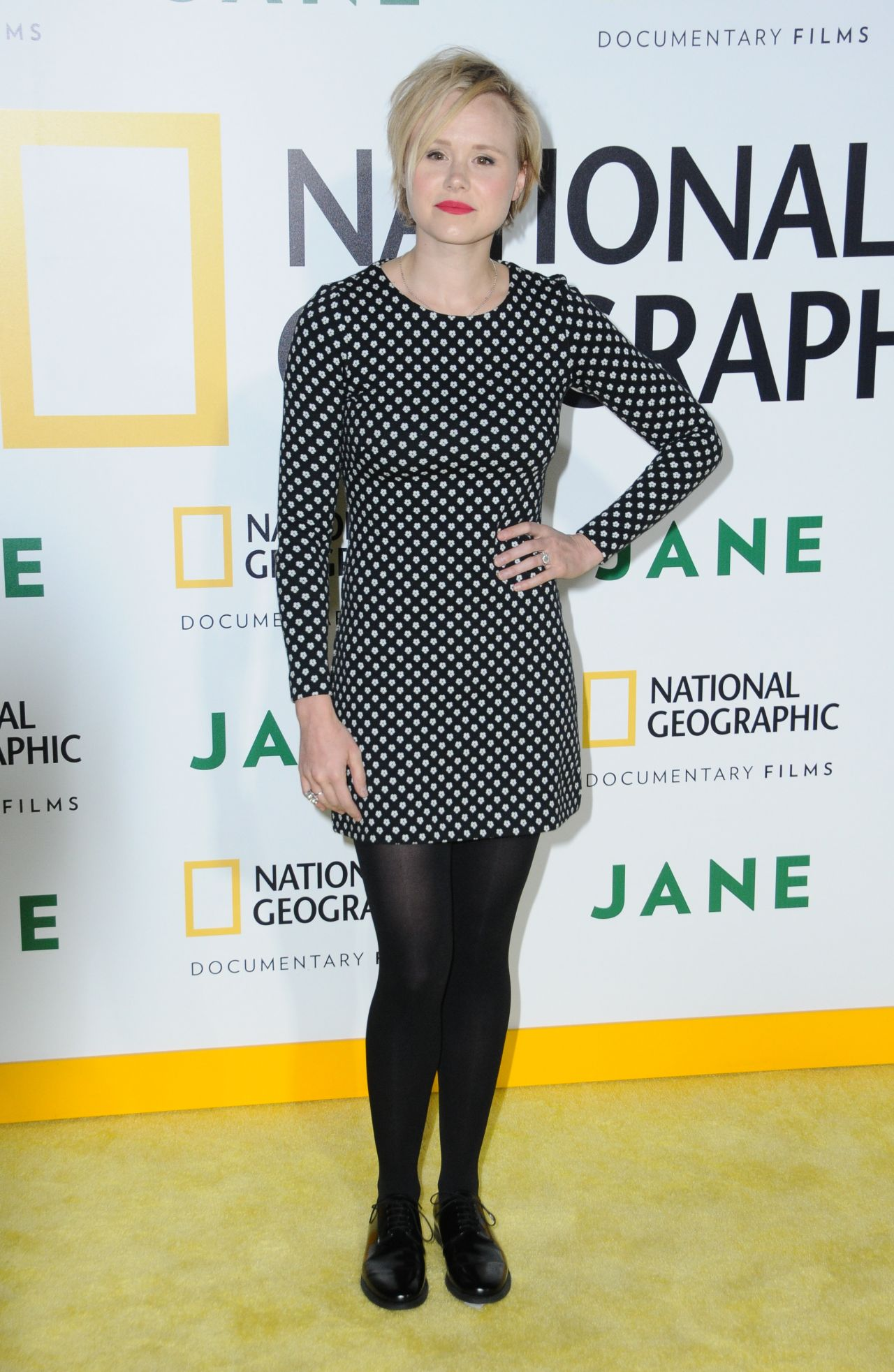 "Allison Pill – National Geographic Documentary Film's ""Jane"" Premiere in LA 10/09/2017"