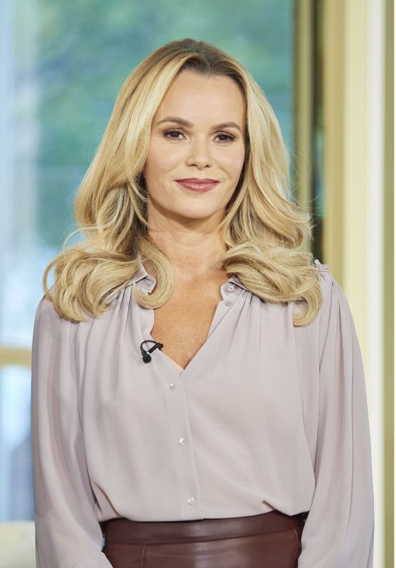 Amanda Holden - This Morning TV Show in London 10/25/2017