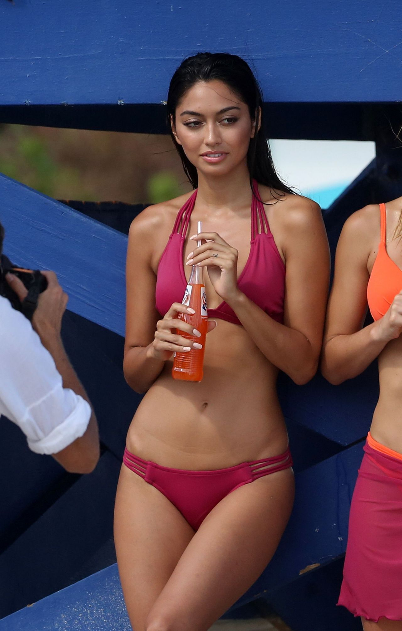 Think, bikini model ambra