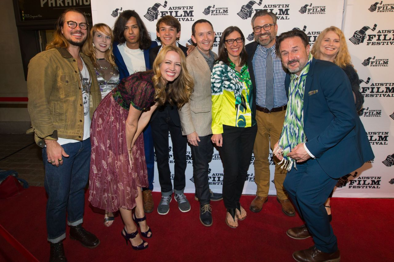 "Amy Acker - ""Amanda and Jack Go Glamping"" Premiere in Austin"