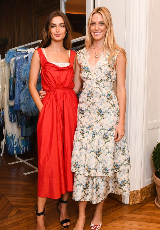 """Andreea Diaconu – CFDA and Vogue Fashion Fund """"Americans in Paris"""" Cocktail Party in Paris 09/30/2017"""