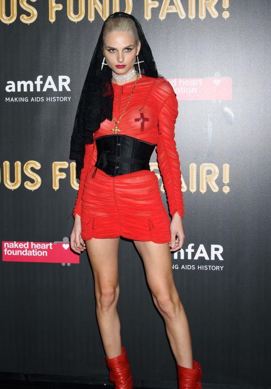 Andreja Pejic – 2017 amfAR Fabulous Fund Fair in NYC