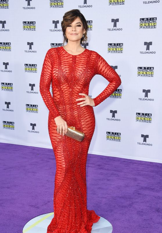Angelica Celaya – Latin American Music Awards 2017 in Hollywood