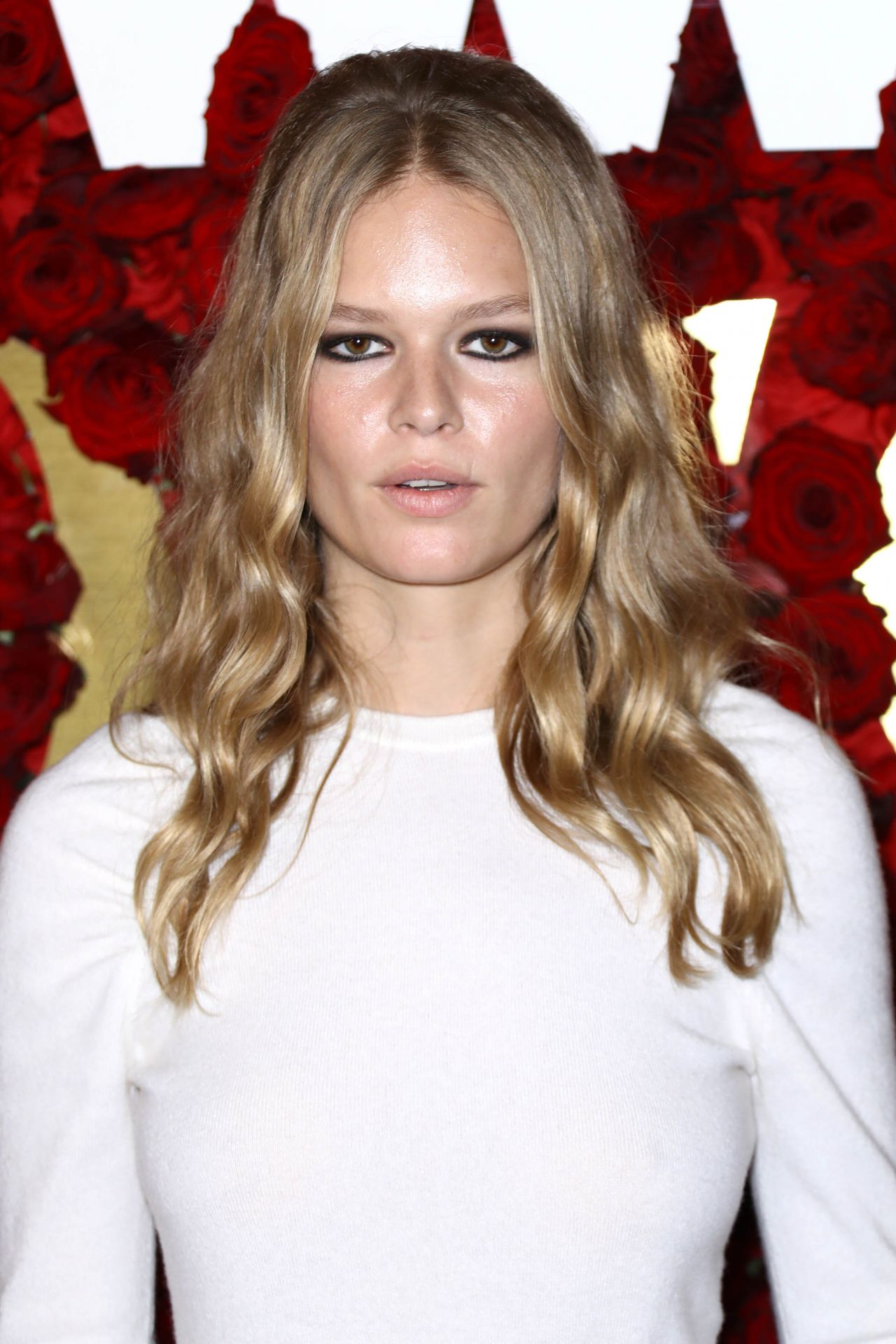 Anna Ewers By Karl Lagerfeld For: 2017 WWD Honors Event In New York City