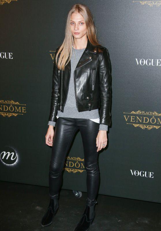 Anna Selezneva – Vogue Party at PFW in Paris 10/01/2017