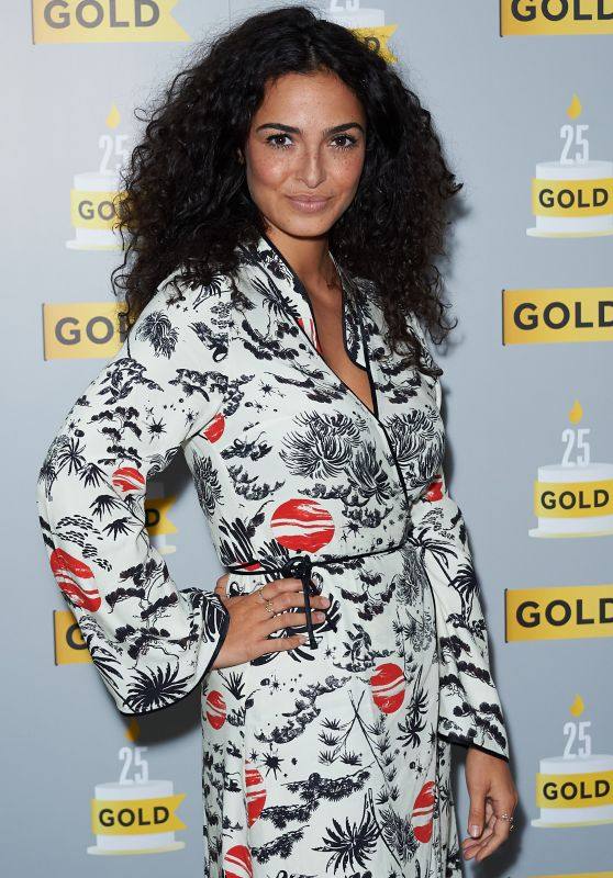 Anna Shaffer at UKTV's Comedy Channel Gold Party in London