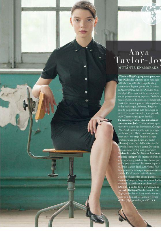 Anya Taylor-Joy - Cinemanía Magazine November 2017 Issue