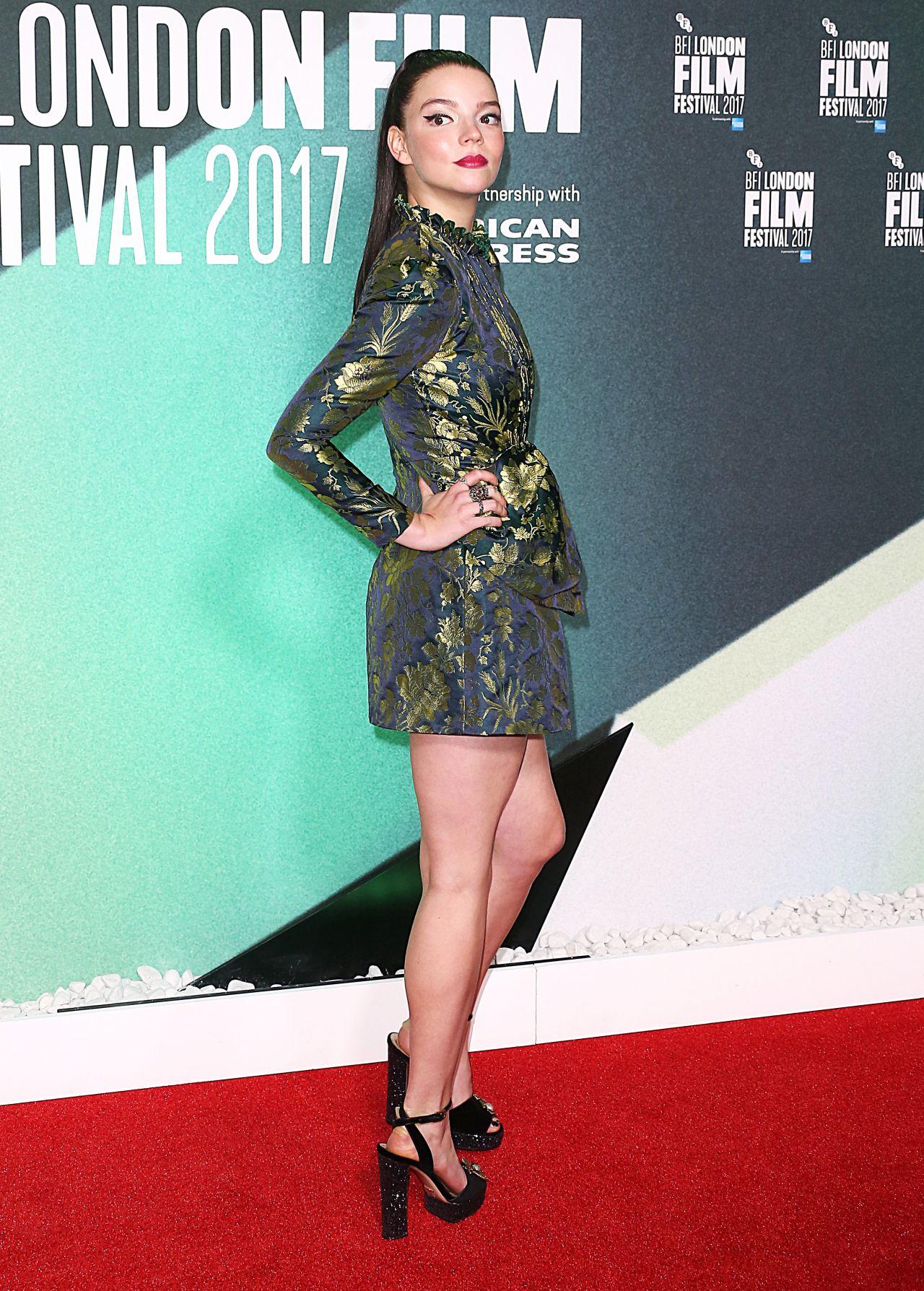 "Anya Taylor-Joy - ""Thoroughbreds"" Premiere at BFI London Film Festival 10/09/2017"