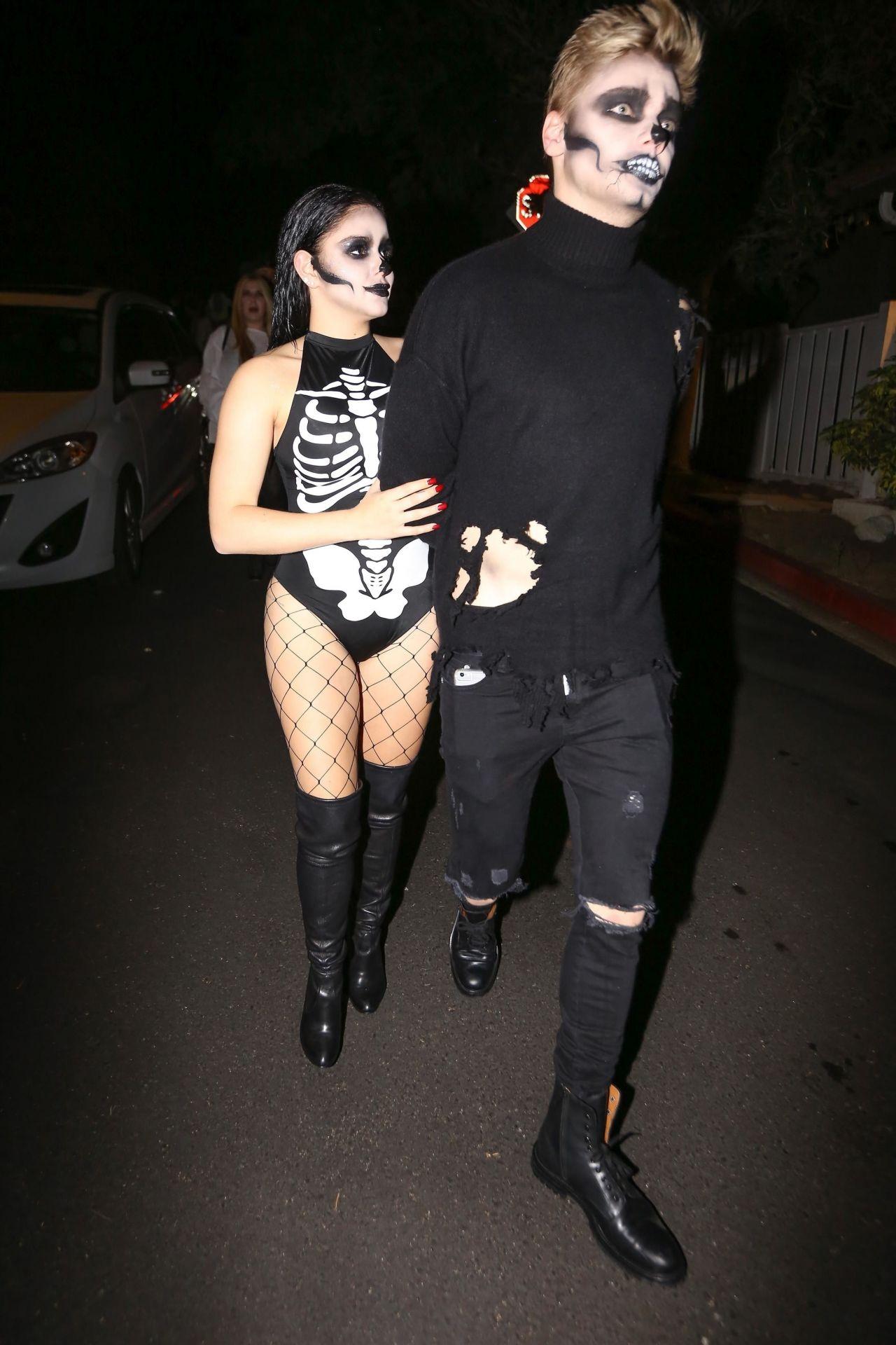 Ariel Winter Skeleton - Just Jared Halloween Party in LA 10/27/2017