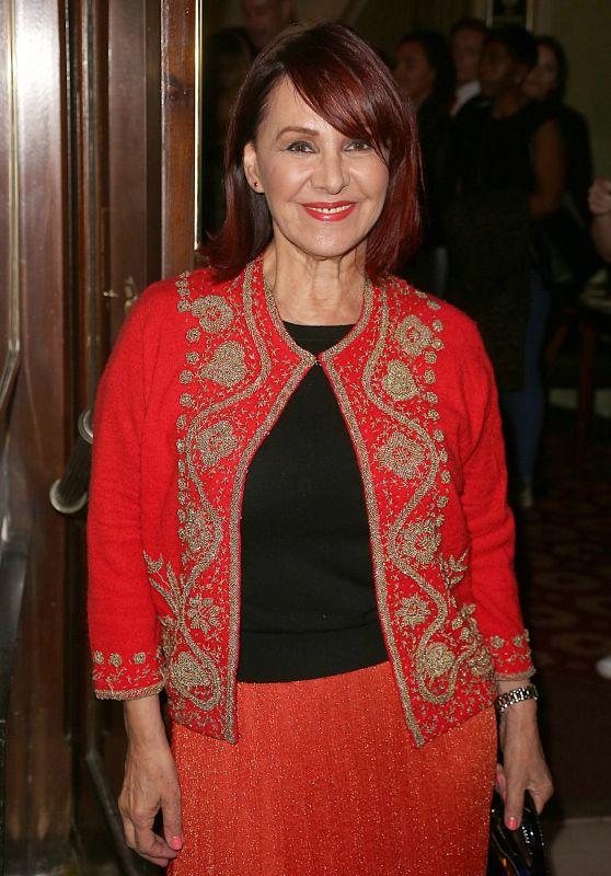 "Arlene Phillips – ""Annie"" Press Night in London 10/02/2017"