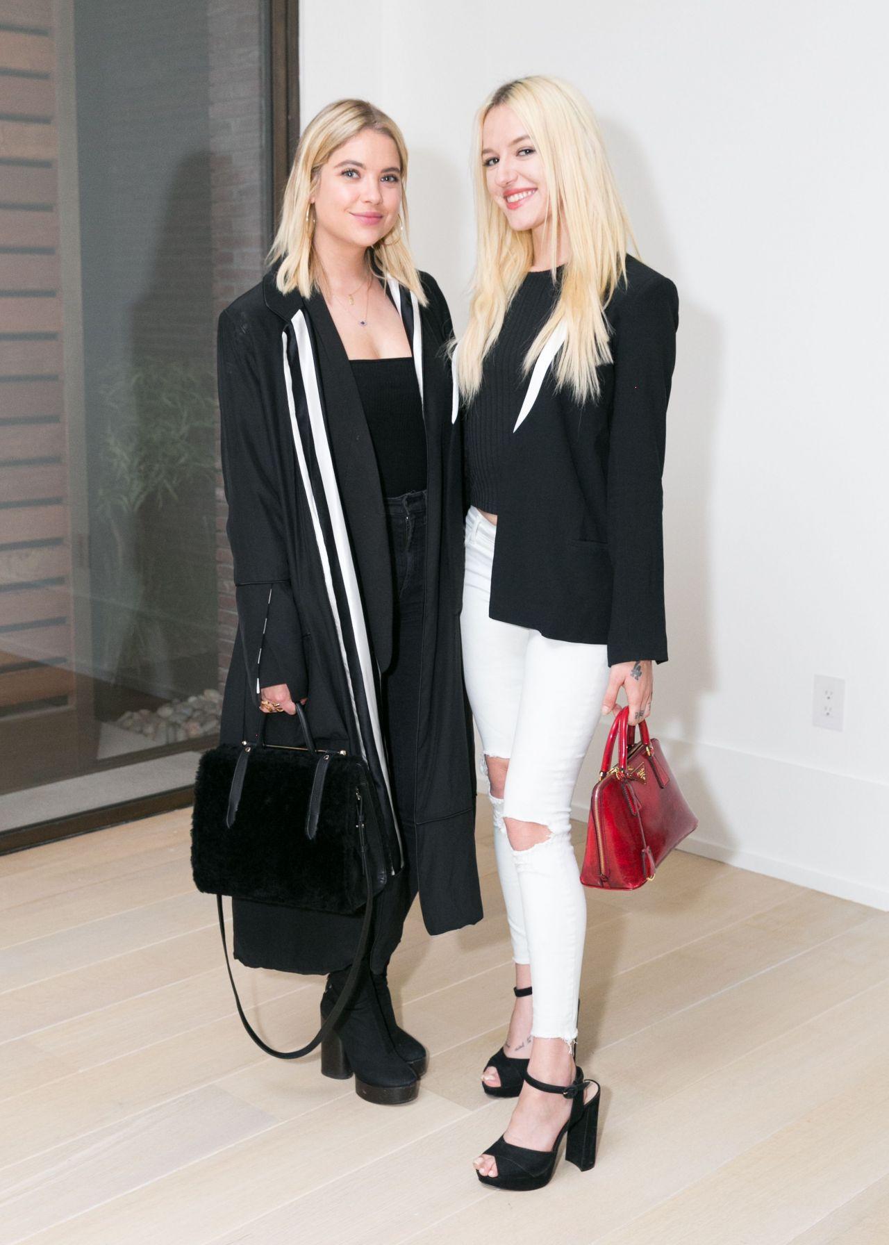 Ashley Benson & Bria Vinaite – La Ligne x Cuyana Collaboration Celebration in New York