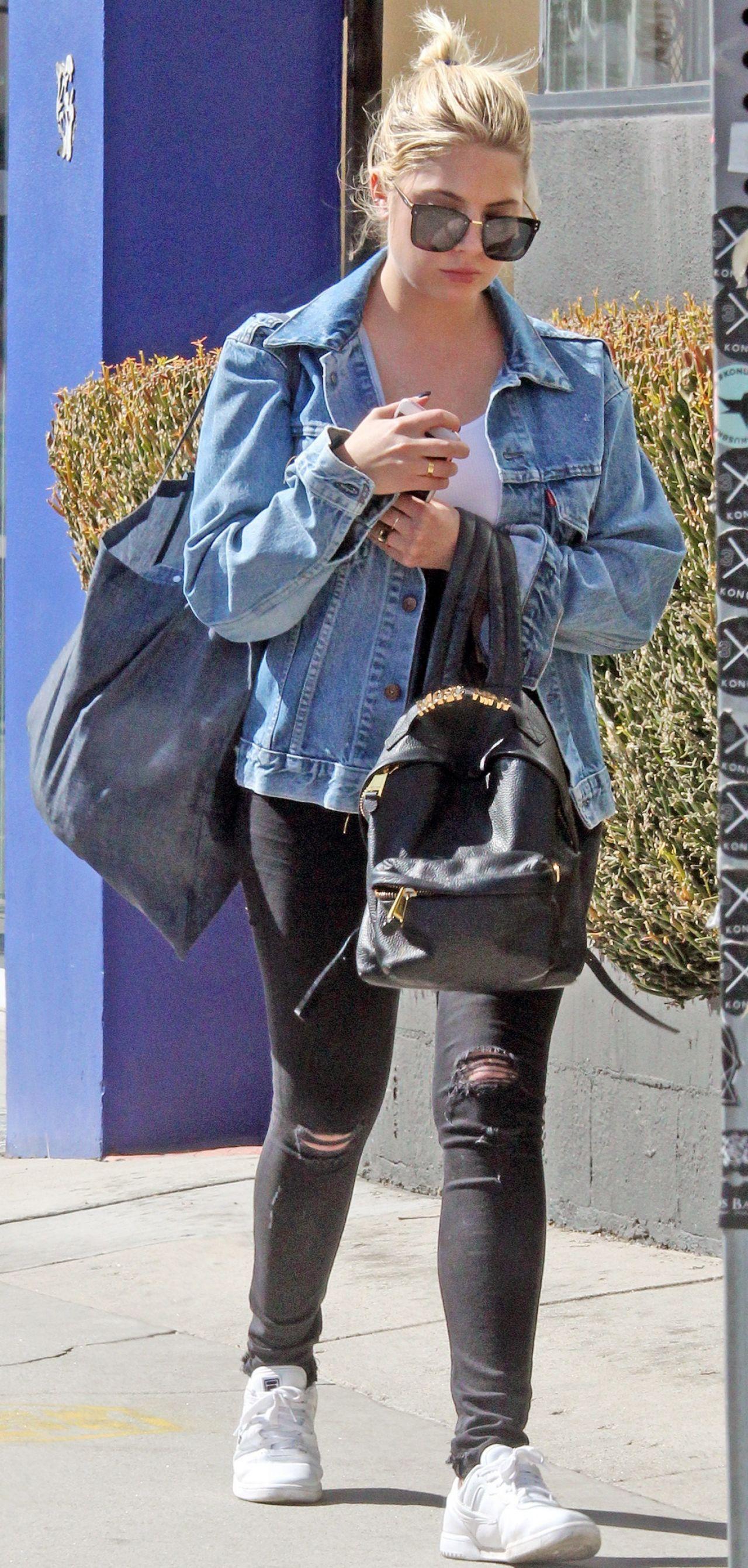 Ashley Benson - Shopping in Beverly Hills 10/09/2017