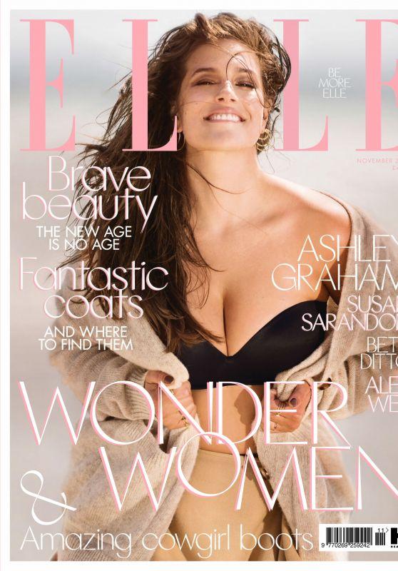 Ashley Graham - Elle UK November 2017 Issue