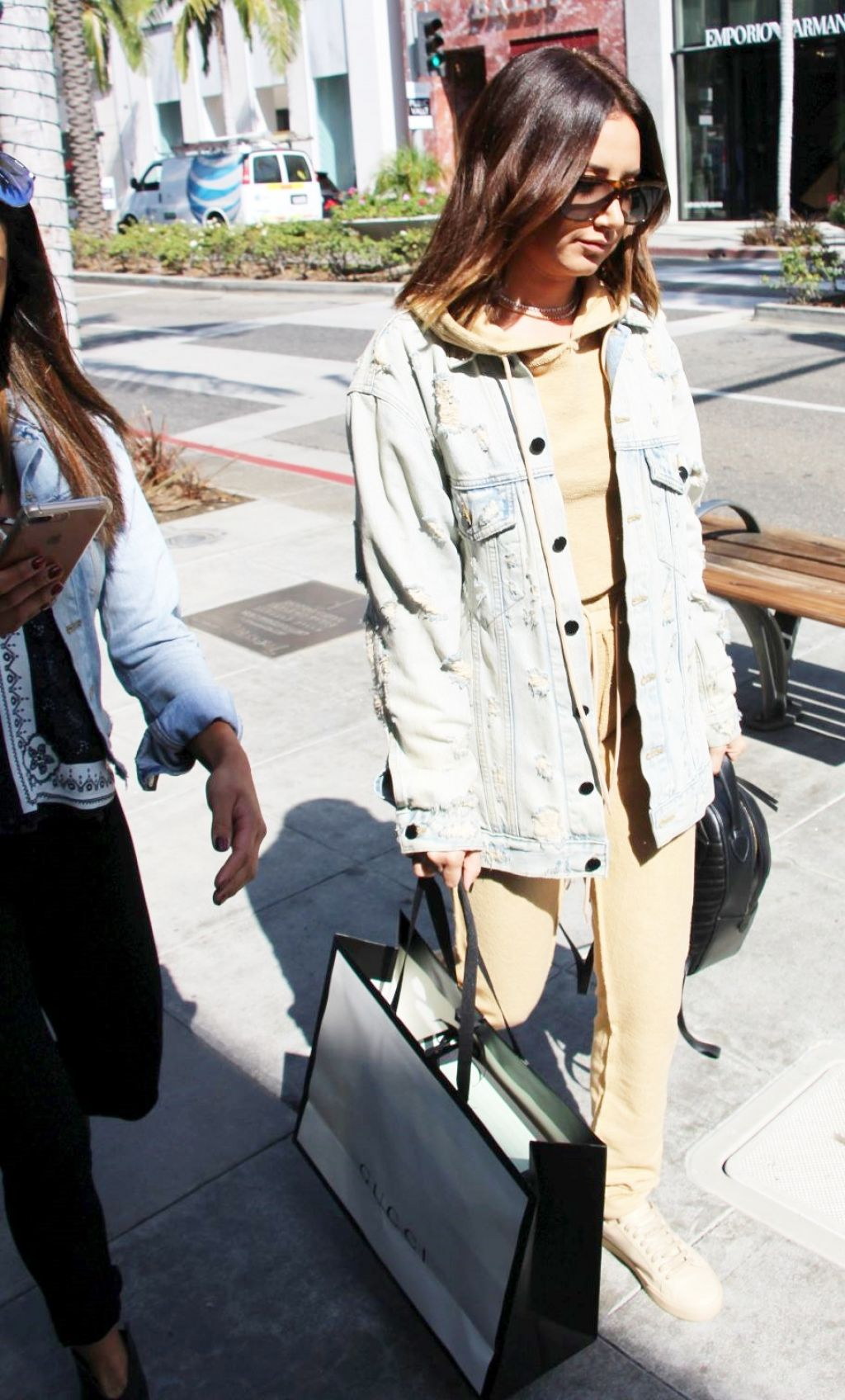 Ashley Tisdale Casual Style - Beverly Hills 10/12/2017