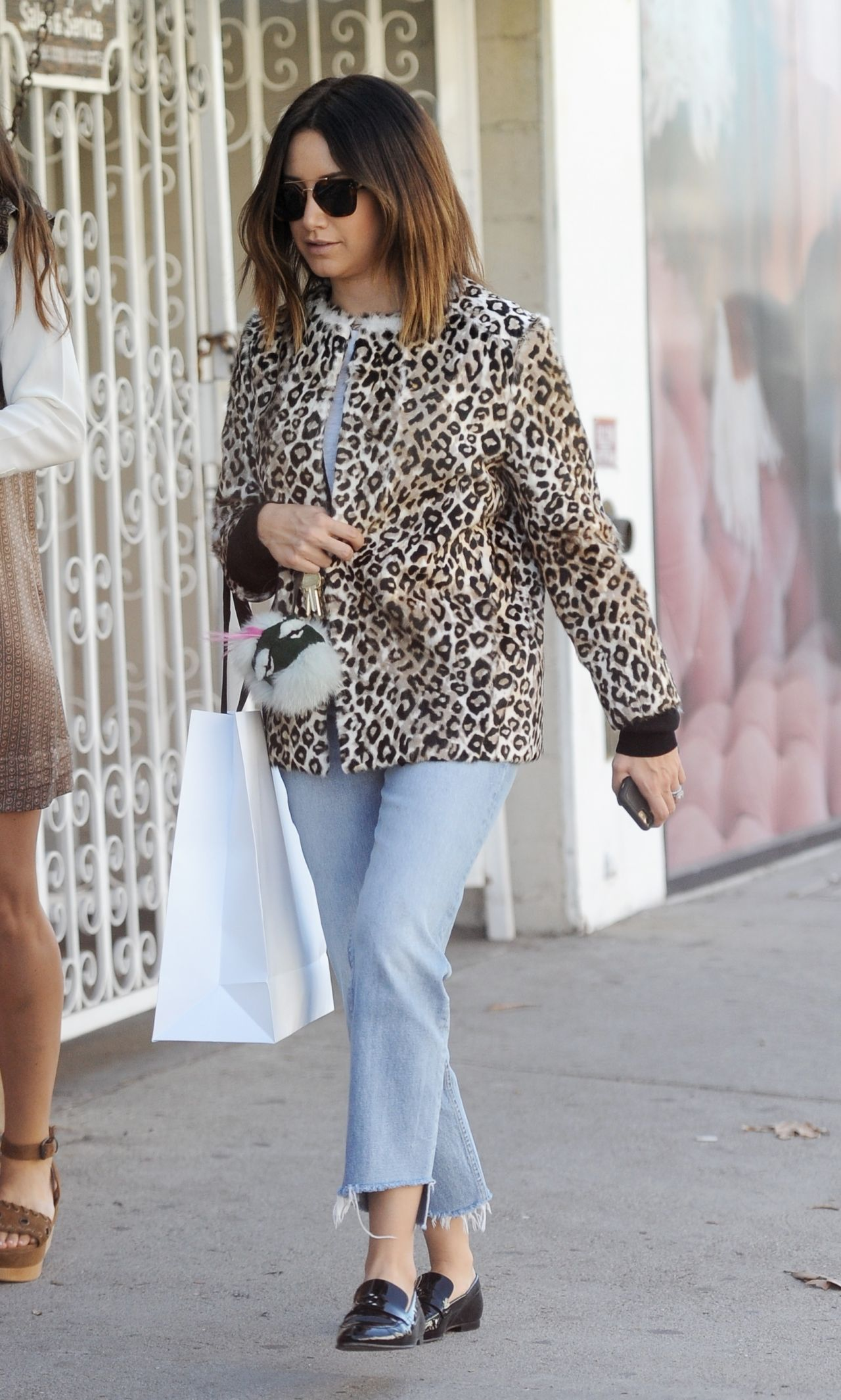 Ashley Tisdale Casual Style - Shopping at Revolve in West ...