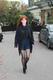 Audrey Fleurot – Leonard Paris Show, Paris Fashion Week 10/02/2017