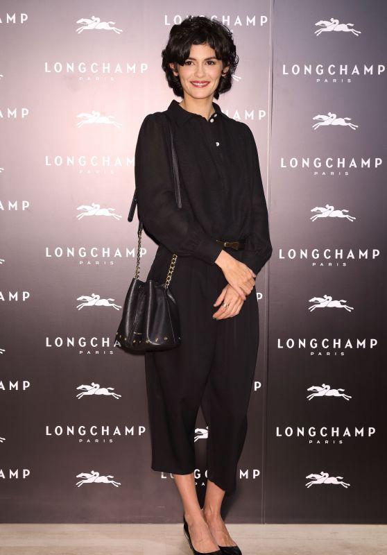 Audrey Tautou - Longchamp La Maison Omotesando Store Opening in Tokyo