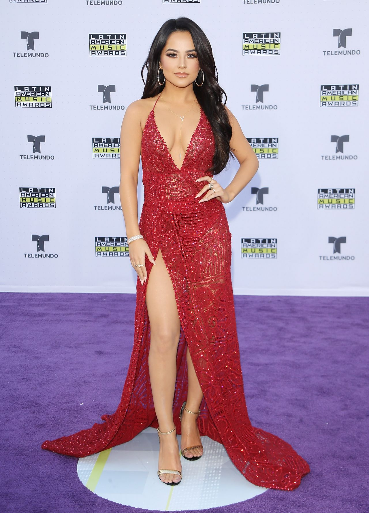 Becky G Latin American Music Awards 2017 In Hollywood
