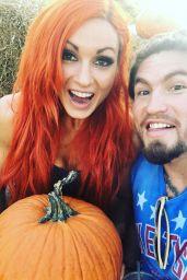Becky Lynch - Social Media Pics, October 2017