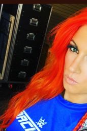 Becky Lynch - Social Media Pics, October 2017