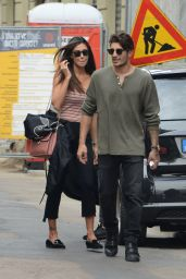 Belen Rodriguez and Andrea Iannone - Milan, Italy 10/01/2017