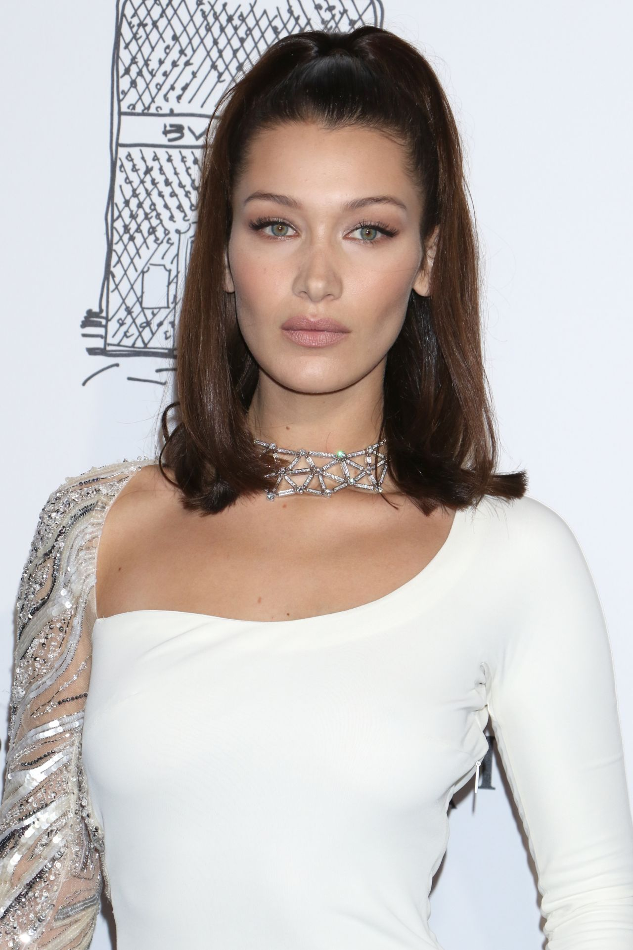 Bella Hadid Bulgari Flagship Store Opening Celebration