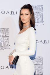 Bella Hadid – Bulgari Flagship Store Opening Celebration in New York 10/20/2017