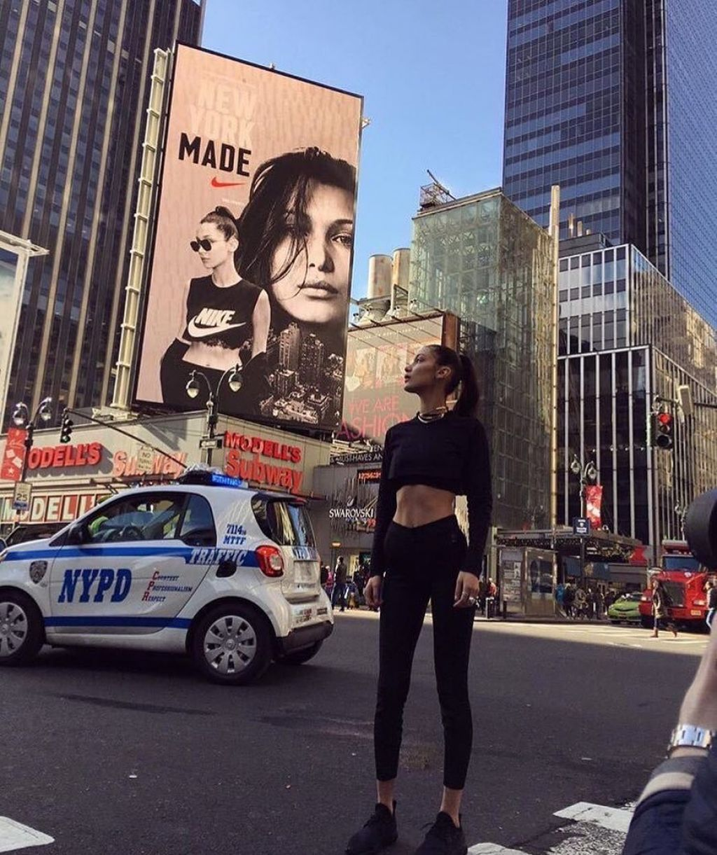 Bella Hadid – Social Media Images 10/12/2017