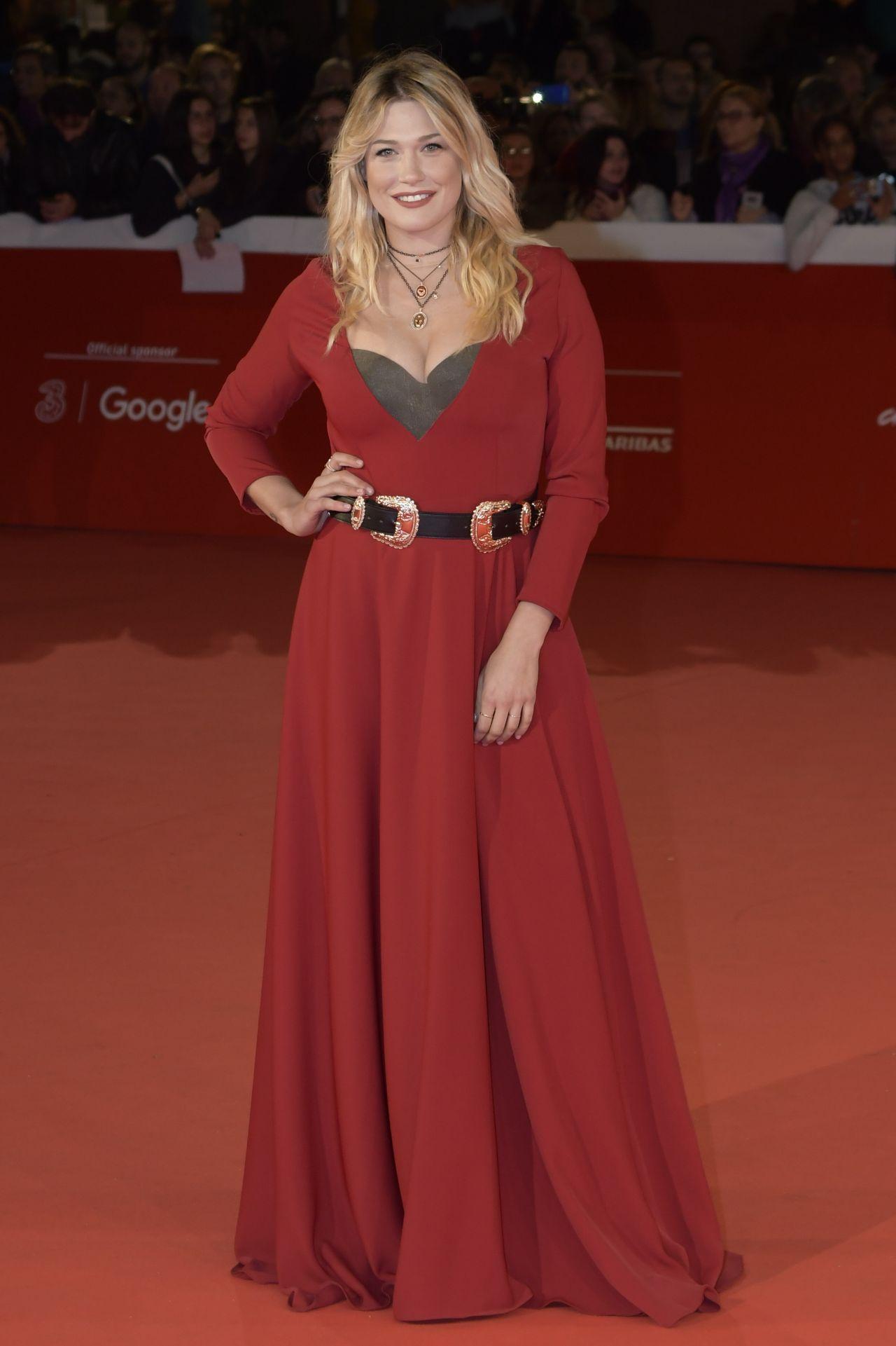 """Benedetta Mazza – """"Prendre le large"""" Red Carpet in Rome"""