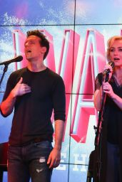 "Betsy Wolfe - Jason Mraz Joins the Cast of ""Waitress The Musical"", New York 10/30/2017"