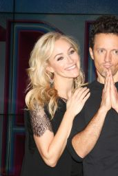 """Betsy Wolfe - Jason Mraz Joins the Cast of """"Waitress The Musical"""", New York 10/30/2017"""