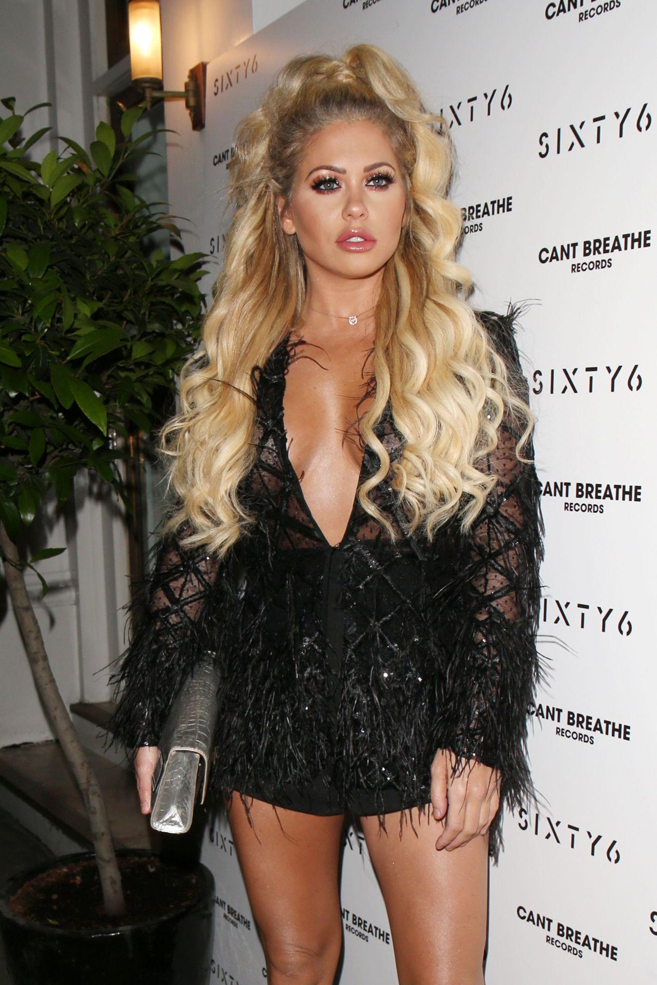 Bianca Gascoigne – SIXTY6 Magazine Launch Party in London