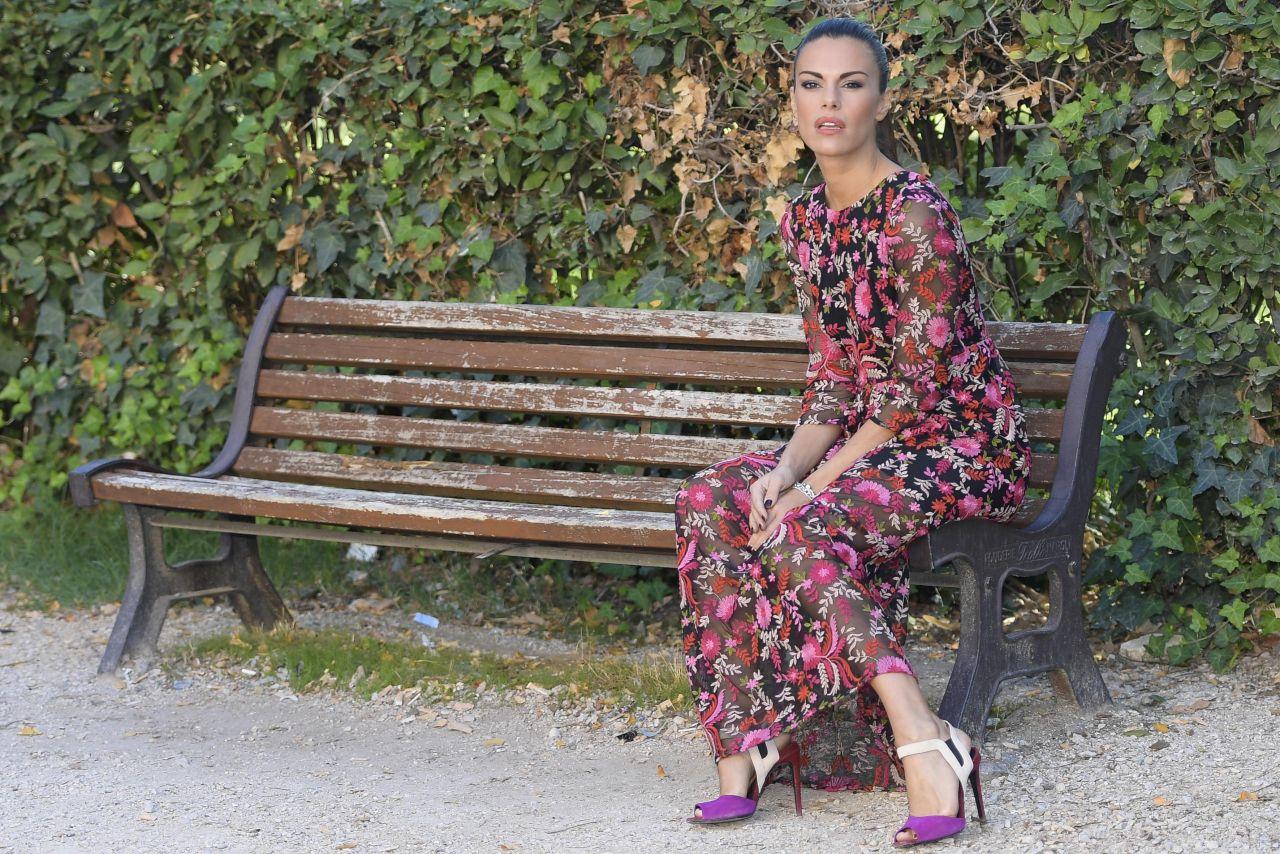 """Bianca Guaccero - """"Sotto Copertura"""" TV Series Photocall in Rome 10/11/2017"""