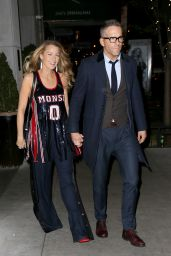 """Blake Lively and Ryan Reynolds - Exiting a Special Screening of """"All I See is You"""" in New York"""