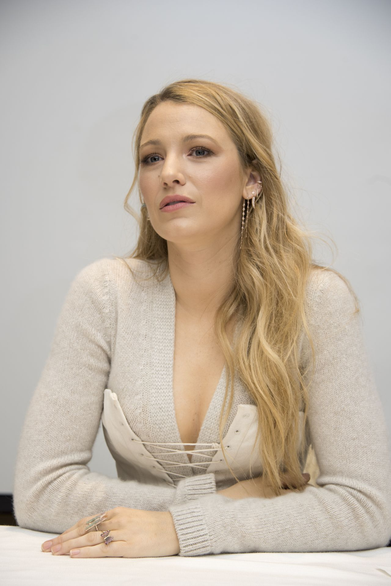 "Blake Lively Headshots - ""All I See Is You"" Press Conference"