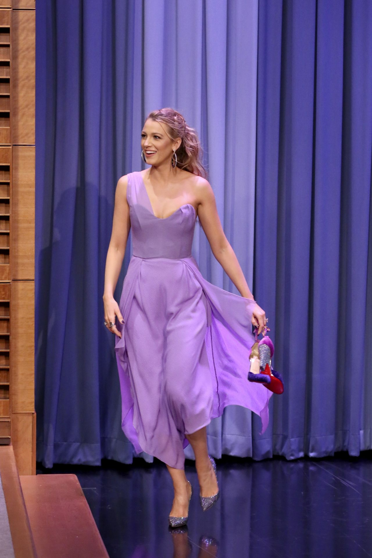 Blake Lively - The Tonight Show Starring Jimmy Fallon in NYC  10/13/2017