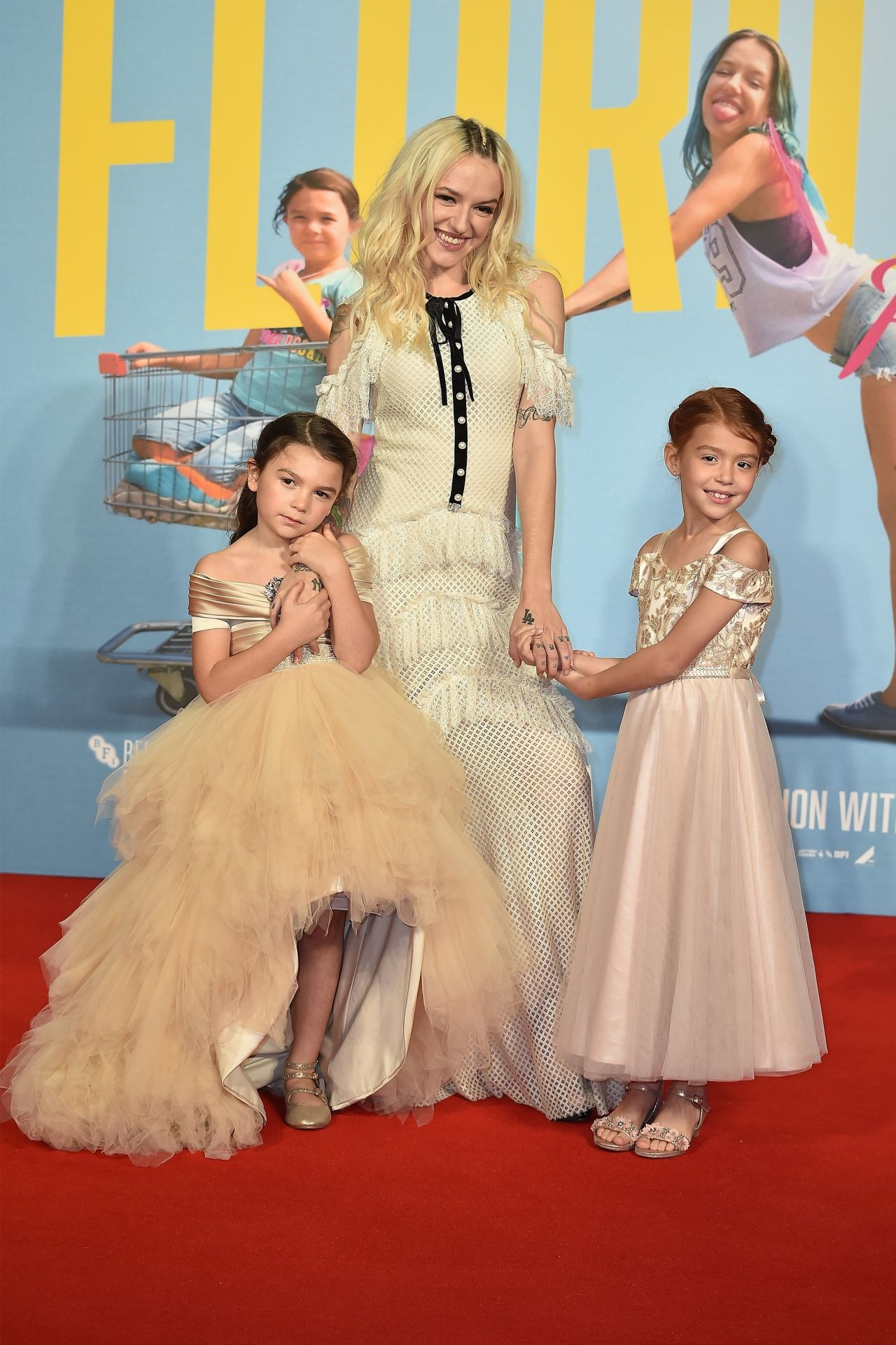 """Bria Vinaite - """"The Florida Project"""" Official Screening in London 10/13/2017"""