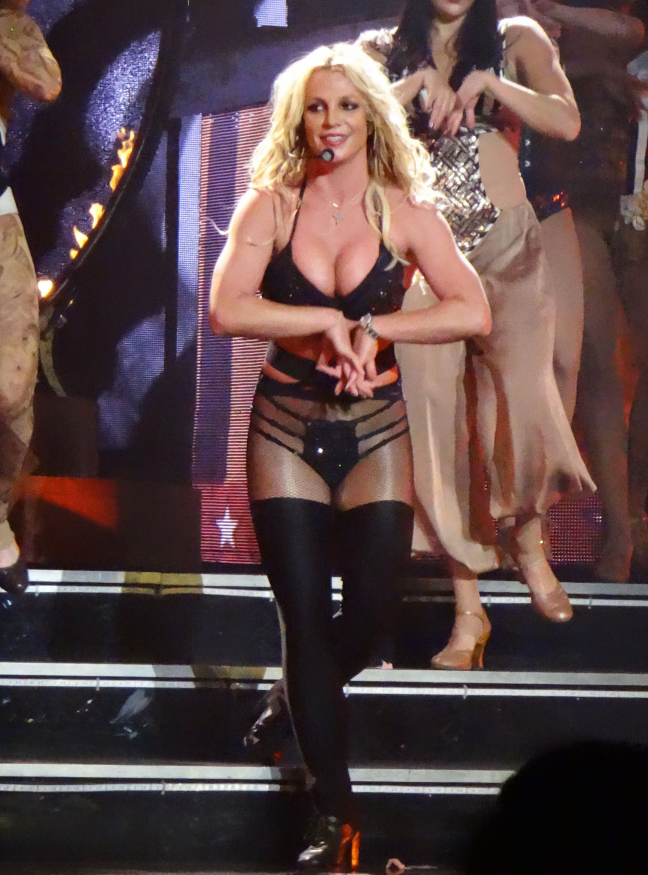 Britney Spears - Performing at Planet Hollywood in Las Vegas 10/11/2017