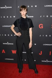 "Brittany Allen – ""Jigsaw"" Red Carpet in Los Angeles"