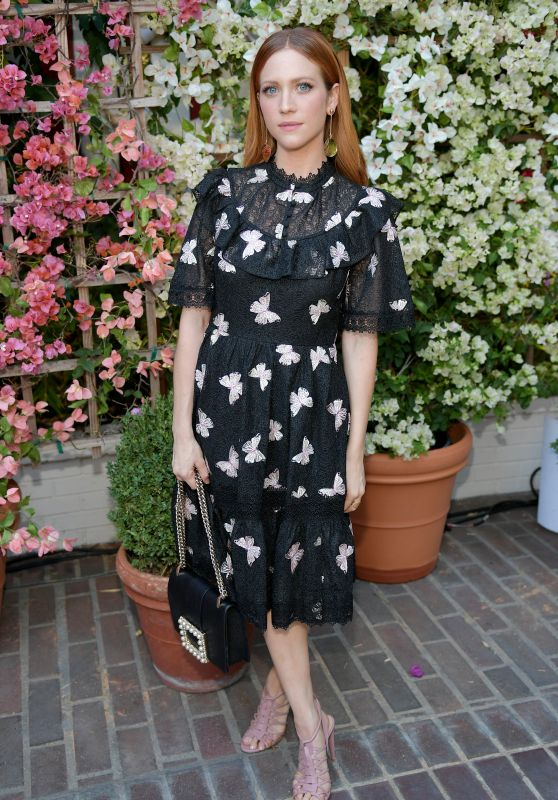 Brittany Snow – CFDA/Vogue Fashion Fund Show in LA 10/25/2017