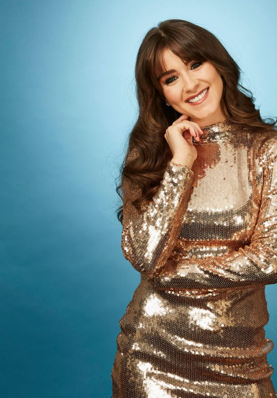Brooke Vincent - Dancing On Ice Photoshoot, October 2017