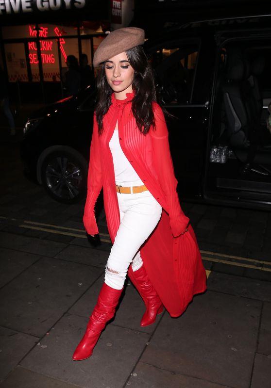 Camila Cabello Cute Style - Soho in London, UK