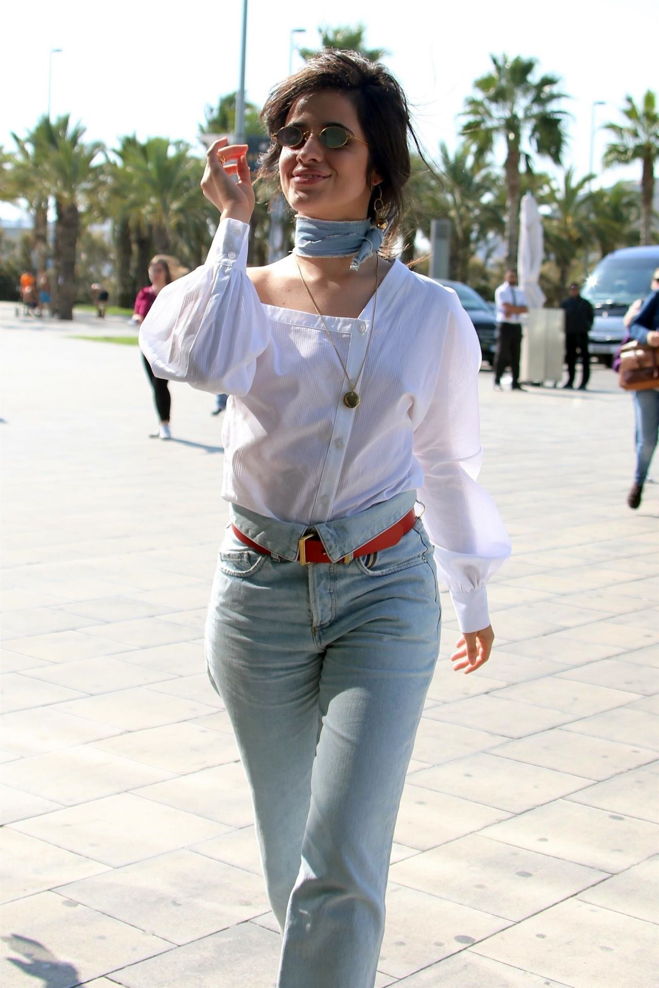 Camila Cabello Street Fashion - Barcelona, Spain, October 2017