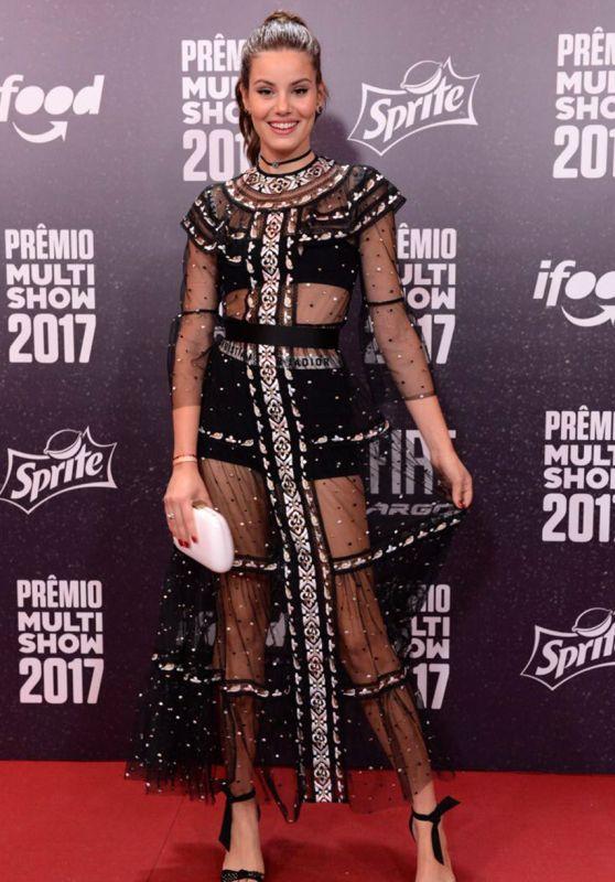 Camila Queiroz - Multishow Awards for Brazilian Music in Rio de Janeiro