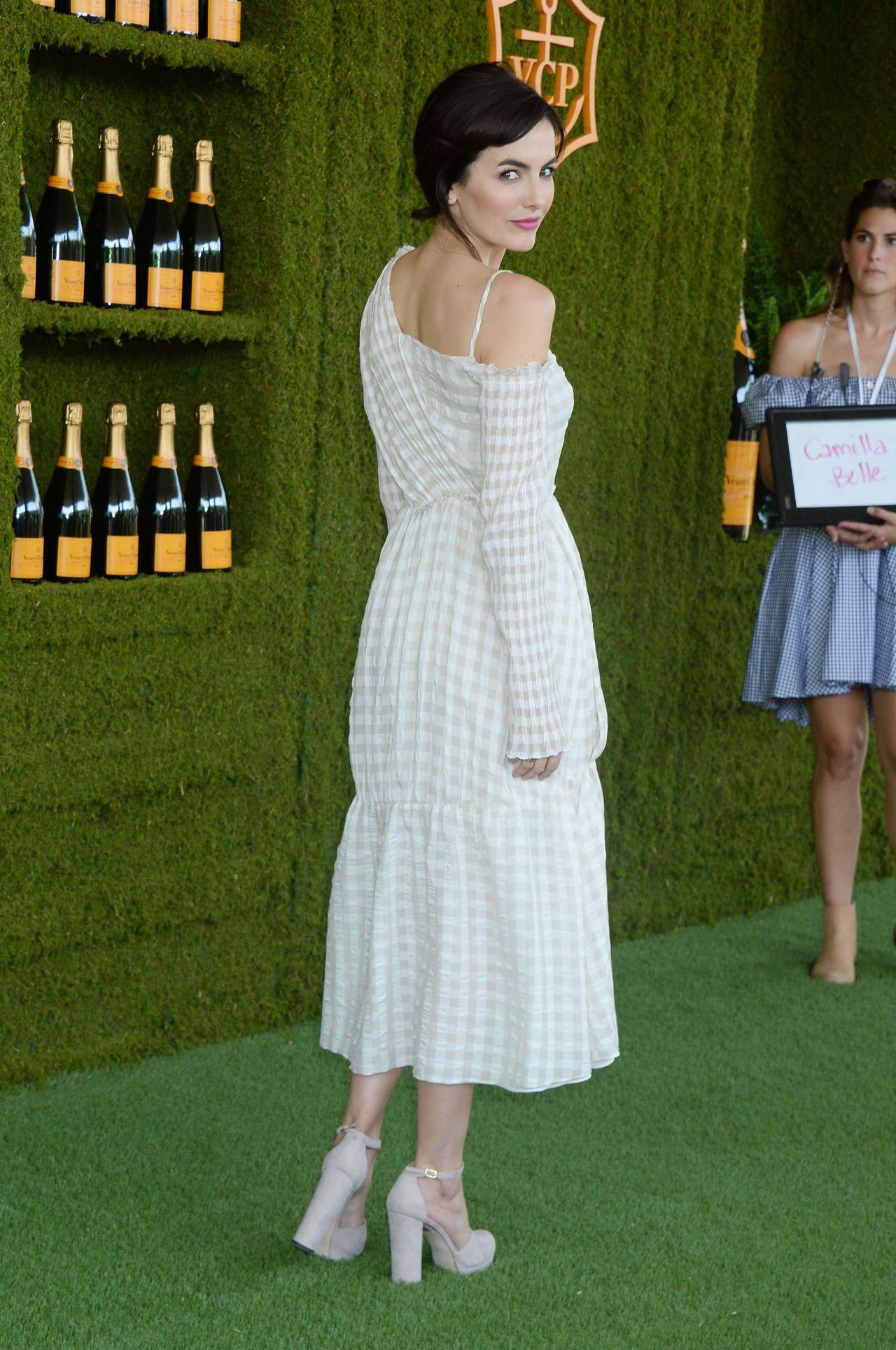 Camilla Belle – Veuve Cliquot Polo Classic 2017 in Los Angeles
